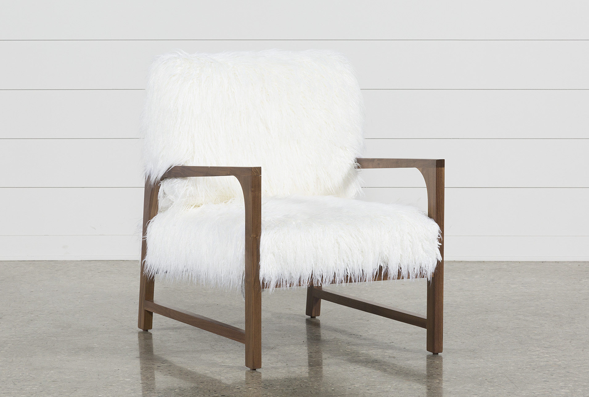 Marvelous Garbo Fur Accent Chair