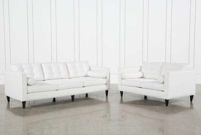 Gregory Estate Sofa & Loveseat Set - 360