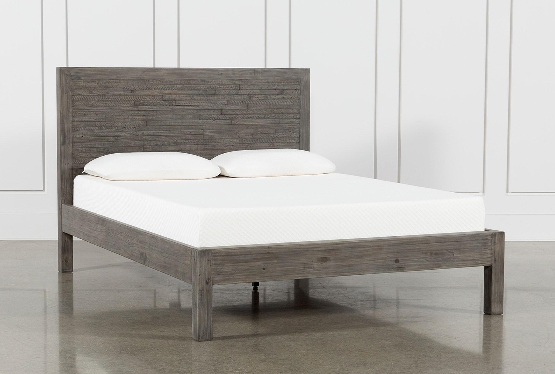 Combs Queen Platform Bed | Living Spaces