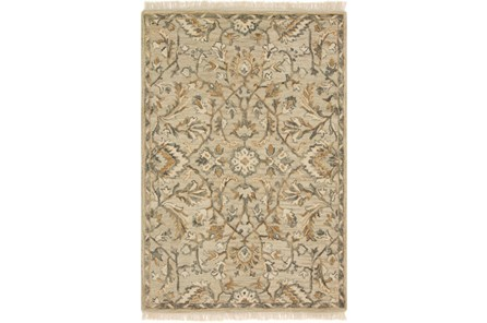 60X90 Rug-Magnolia Home Hanover Neutral By Joanna Gaines
