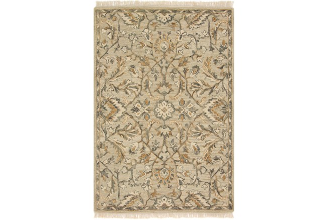 60X90 Rug-Magnolia Home Hanover Neutral By Joanna Gaines - 360