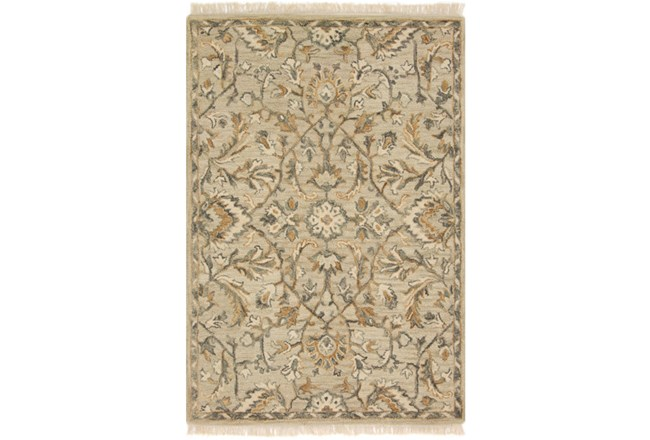93X117 Rug-Magnolia Home Hanover Neutral By Joanna Gaines - 360