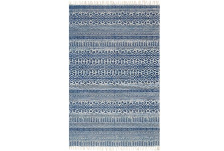 60X90 Rug-Magnolia Home June Blue By Joanna Gaines