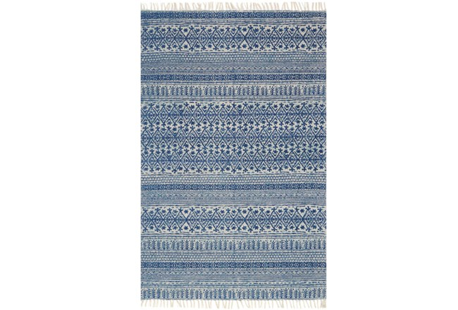 60X90 Rug-Magnolia Home June Blue By Joanna Gaines - 360