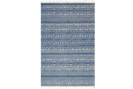 93X117 Rug-Magnolia Home June Blue By Joanna Gaines