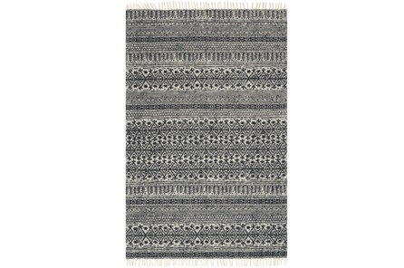 93X117 Rug-Magnolia Home June Black By Joanna Gaines - Main