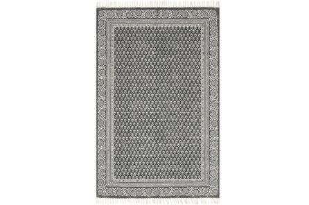 93X117 Rug-Magnolia Home June Charcoal By Joanna Gaines