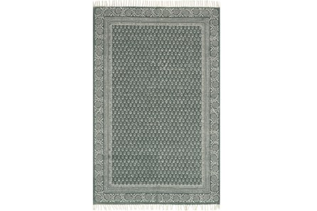 93X117 Rug-Magnolia Home June Green By Joanna Gaines
