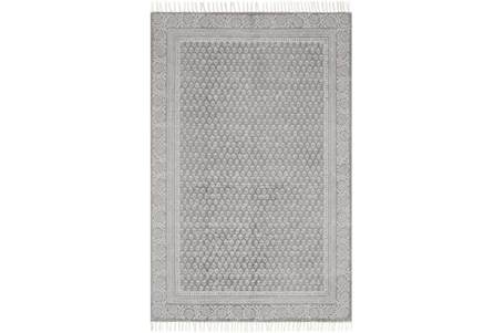 60X90 Rug-Magnolia Home June Grey By Joanna Gaines