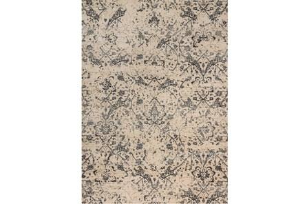 63X92 Rug-Magnolia Home Kivi Ivory/Ink By Joanna Gaines