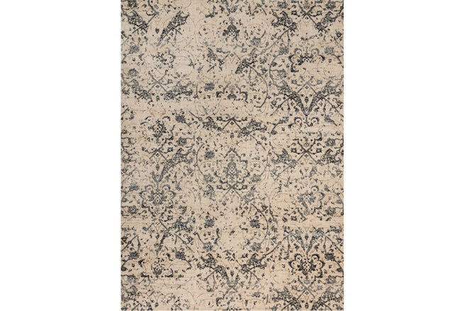 94X130 Rug-Magnolia Home Kivi Ivory/Ink By Joanna Gaines - 360