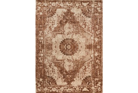 63X92 Rug-Magnolia Home Kivi Sand/Rust By Joanna Gaines