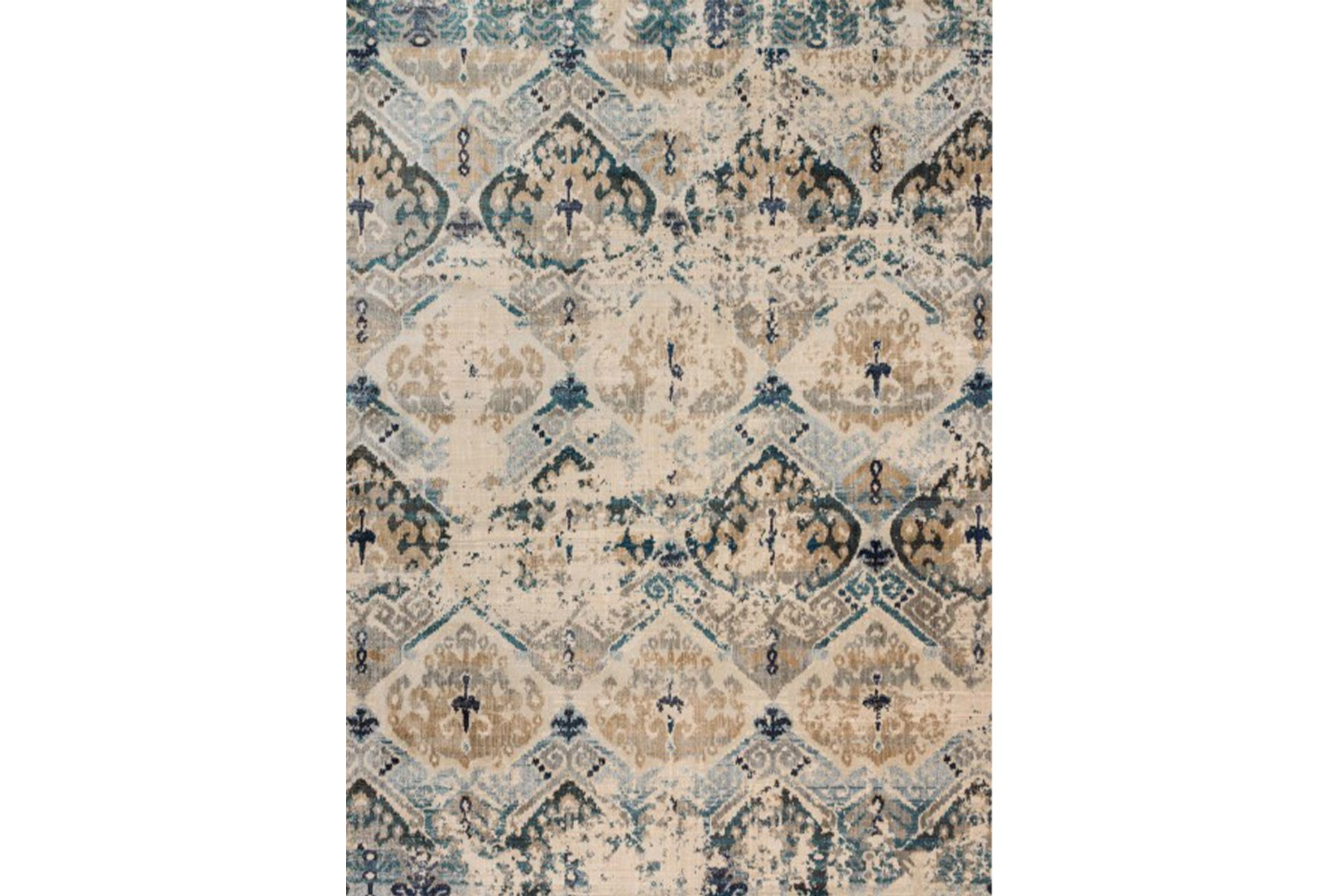 63x92 Rug Magnolia Home Kivi Sand Ocean By Joanna Gaines Living Spaces