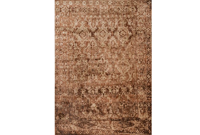94X130 Rug-Magnolia Home Kivi Sand/Copper By Joanna Gaines - 360