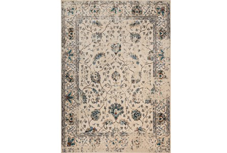 94X130 Rug-Magnolia Home Kivi Ivory/Multi By Joanna Gaines