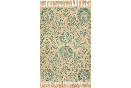 60X90 Rug-Magnolia Home Jozie Day Aqua By Joanna Gaines