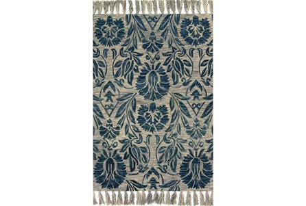 93X117 Rug-Magnolia Home Jozie Day Blue By Joanna Gaines