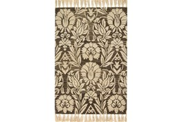 93X117 Rug-Magnolia Home Jozie Day Charcoal By Joanna Gaines