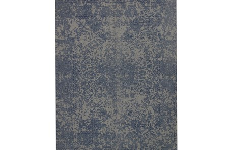 93X117 Rug-Magnolia Home Lily Park Blue By Joanna Gaines