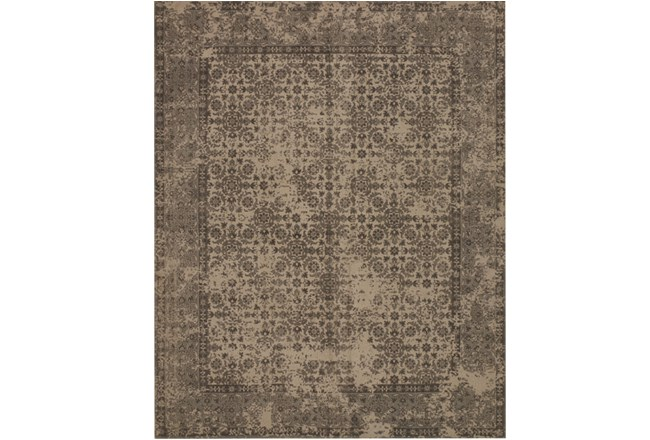 93X117 Rug-Magnolia Home Lily Park Beige By Joanna Gaines - 360