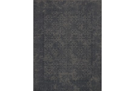 60X90 Rug-Magnolia Home Lily Park Charcoal By Joanna Gaines