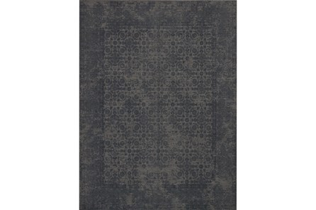 93X117 Rug-Magnolia Home Lily Park Charcoal By Joanna Gaines