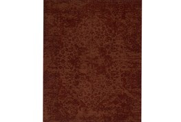 93X117 Rug-Magnolia Home Lily Park Rust By Joanna Gaines