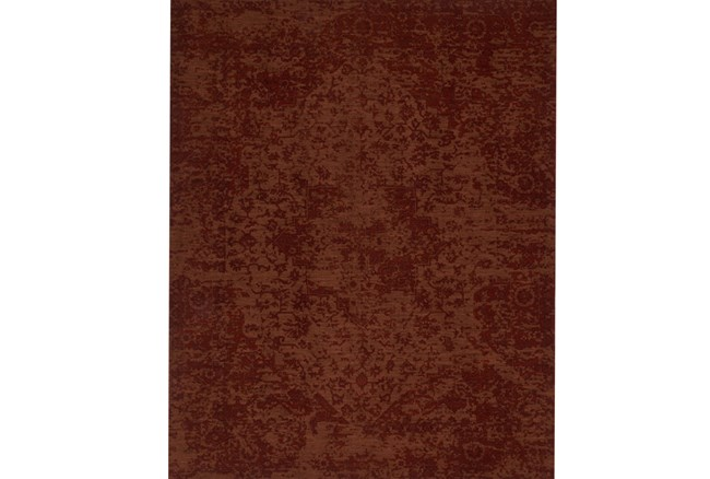 93X117 Rug-Magnolia Home Lily Park Rust By Joanna Gaines - 360