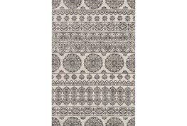 93X117 Rug-Magnolia Home Lotus Antique Ivory/Mink By Joanna Gaines