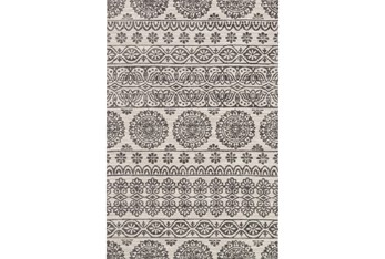 """7'8""""x9'8"""" Rug-Magnolia Home Lotus Antique Ivory/Mink By Joanna Gaines"""