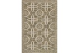93X117 Rug-Magnolia Home Lotus Antique Ivory/Olive By Joanna Gaines - Signature