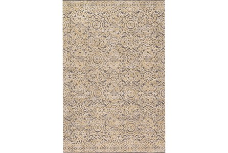 93X117 Rug-Magnolia Home Lotus Mink/Gold By Joanna Gaines