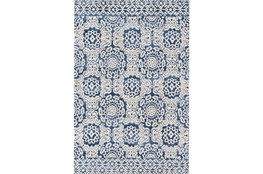 60X90 Rug-Magnolia Home Lotus Blue/Antique Ivory By Joanna Gaines