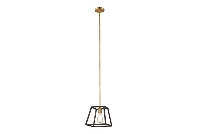 Pendant-Zia Brass & Bronze - 360