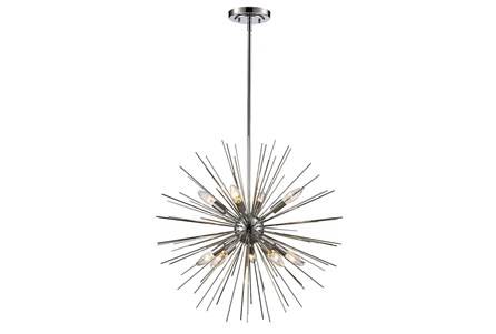 Pendant-Estrella Polished Chrome Starburst