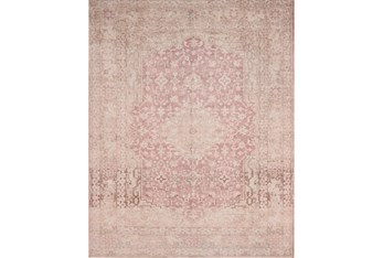 """7'8""""x9'8"""" Rug-Magnolia Home Lucca Terracotta/Ivory By Joanna Gaines"""