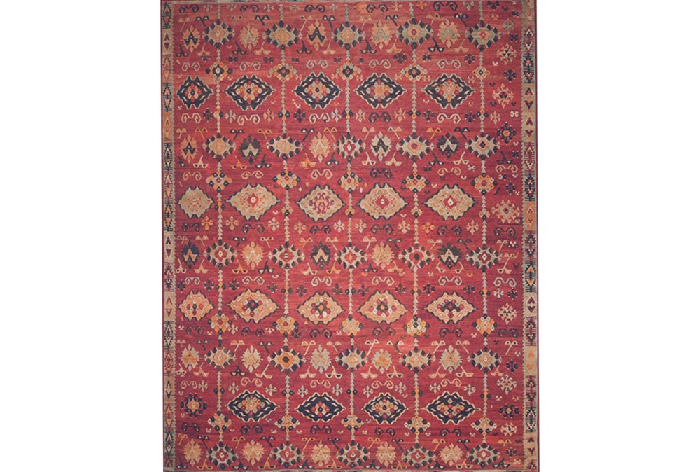 """5'x7'5"""" Rug-Magnolia Home Lucca Brick/Multi By Joanna Gaines"""