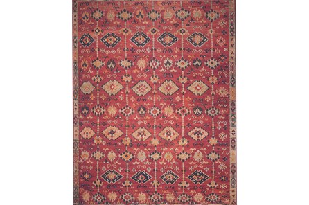 60X90 Rug-Magnolia Home Lucca Brick/Multi By Joanna Gaines