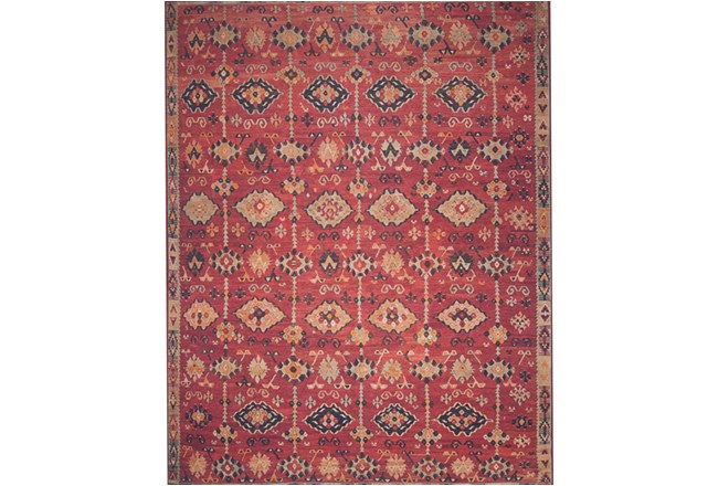 60X90 Rug-Magnolia Home Lucca Brick/Multi By Joanna Gaines - 360