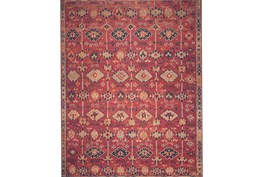 93X117 Rug-Magnolia Home Lucca Brick/Multi By Joanna Gaines