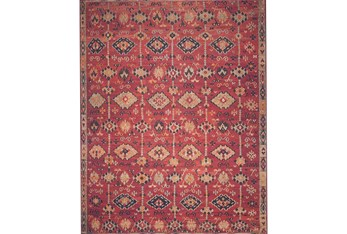 """7'8""""x9'8"""" Rug-Magnolia Home Lucca Brick/Multi By Joanna Gaines"""