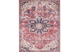 60X90 Rug-Magnolia Home Lucca Rust/Ivory By Joanna Gaines - Signature