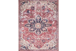 """5'x7'5"""" Rug-Magnolia Home Lucca Rust/Ivory By Joanna Gaines"""