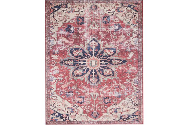 60X90 Rug-Magnolia Home Lucca Rust/Ivory By Joanna Gaines - 360