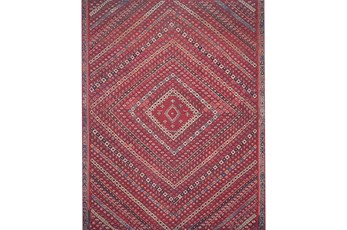 """5'x7'5"""" Rug-Magnolia Home Lucca Red/Multi By Joanna Gaines"""