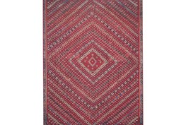 93X117 Rug-Magnolia Home Lucca Red/Multi By Joanna Gaines