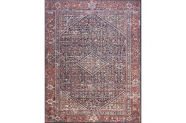 93X117 Rug-Magnolia Home Lucca Terracotta/Ivory By Joanna Gaines