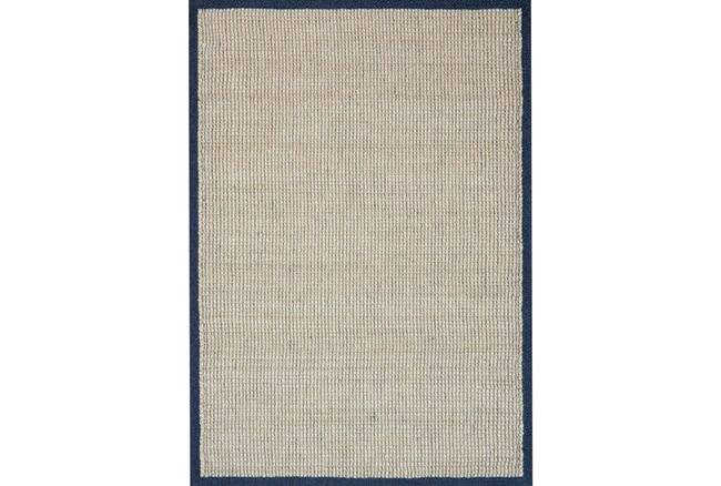 60X90 Rug-Magnolia Home Sydney Navy By Joanna Gaines - 360