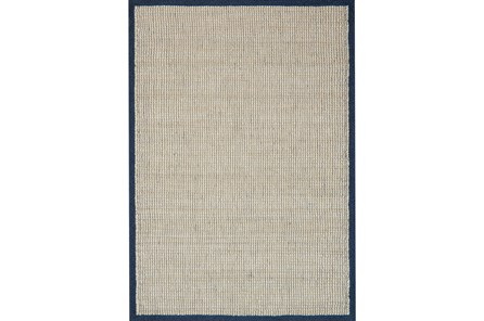 93X117 Rug-Magnolia Home Sydney Navy By Joanna Gaines