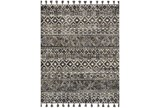 93X117 Rug-Magnolia Home Teresa Ivory/Charcoal By Joanna Gaines - Signature